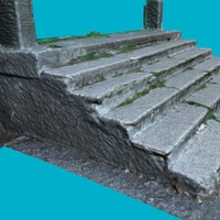 stairs 2 3d model