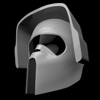 scout trooper mask 3d 3ds
