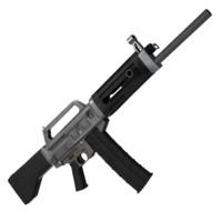 3d model usas 12 shotgun