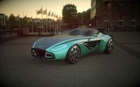 3d design aston martin cc100 model