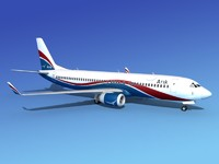 3ds max boeing 737-800 737