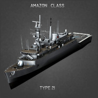 type 21 frigate max