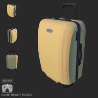 3d model gen suitcase travel bag