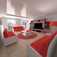 living room 3ds