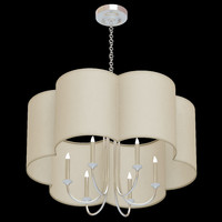 arteriors rittenhouse chandelier 3d model