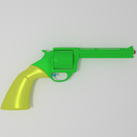 3ds max water revolver