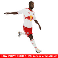 thierry ny henry soccer 3d model