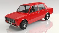 VAZ 2101 Red