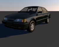 3d scorpio car