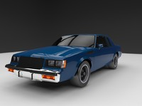 3d buick regal 1987 model