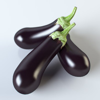 3ds max realistic eggplant