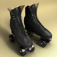 artistic skates 3d ma