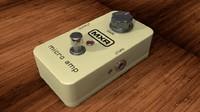 3d dunlop mxr micro amp model