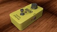 dunlop mxr micro chorus 3d model