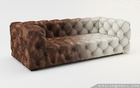 max tufted leather sofa