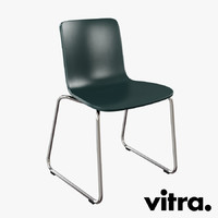 vitra hal sledge chair 3d max