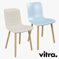 vitra hal wood chair max