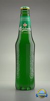 Bottle of Carlsberg
