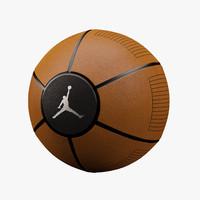 basketball jordan 3d model