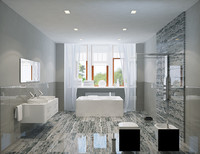 3ds max bath bathroom interior