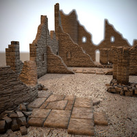 Modular Castle Ruins