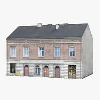 3d model of old building