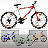 3d model mountain bike