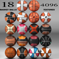 3d model of basket ball 18