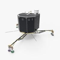 ESA Philae Rosetta Comet Lander
