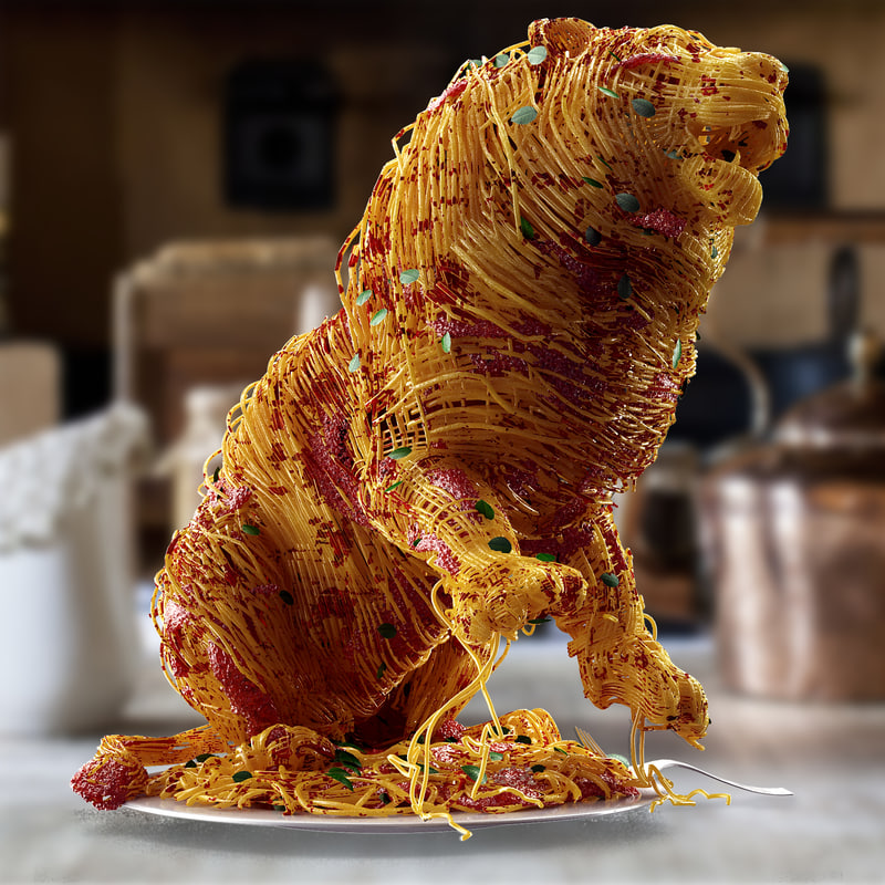 August 2014 Cpo Offers Table Jpg: Lion Spaghetti 3d Model