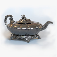 Antique Irish Sliver Teapot