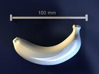 banana mold hand 3d model