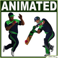 3d bowler batter model
