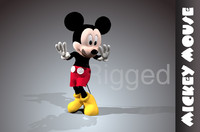 Mickey mouse rigged