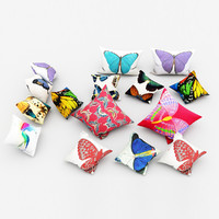 butterfly pillows 3d max