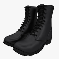 army boots 3d max
