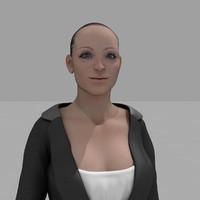3d character hd model