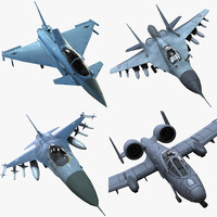 ready fighter planes fbx