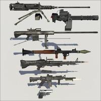 3d model military