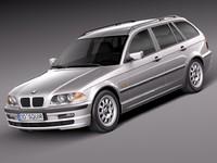 bmw 1998 2001 3d model