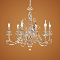 3d model chandelier euroluce lampadari alicante