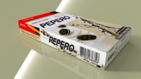 blend lotte pepero white cookies
