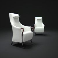 giorgetti-progetti-bergere-armchair 3d max