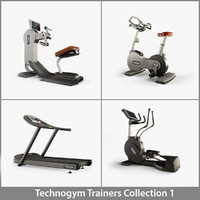 3d professional 1 technogym