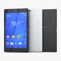 sony xperia z3 tablet 3d model