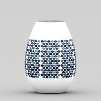 free max mode vase polka dots