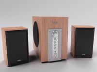 3d speakers 2 model