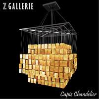 3d capiz chandelier