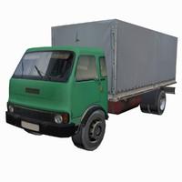 3d transportation truck