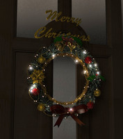 c4d christmas wreath